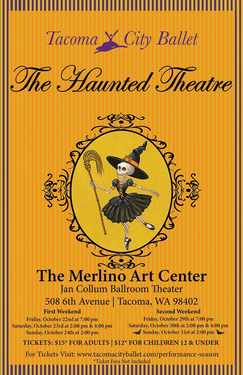 Haunted Theatre not tour - 2021